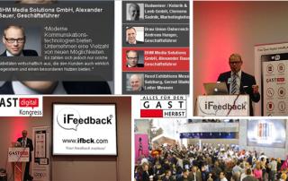 iFeedback auf der GAST Digital